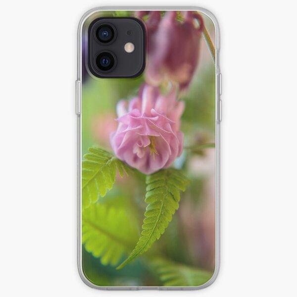 Blüte einer Aquilegia iPhone Flexible Hülle
