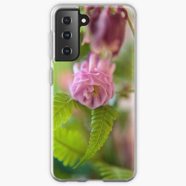 Blossom of a Aquilegia Samsung Galaxy Soft Case
