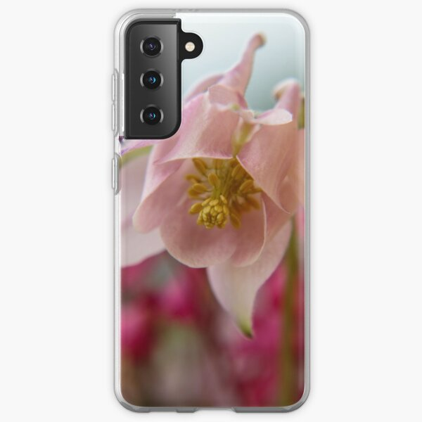 Blossom of a Aquilegia in Pink Samsung Galaxy Soft Case