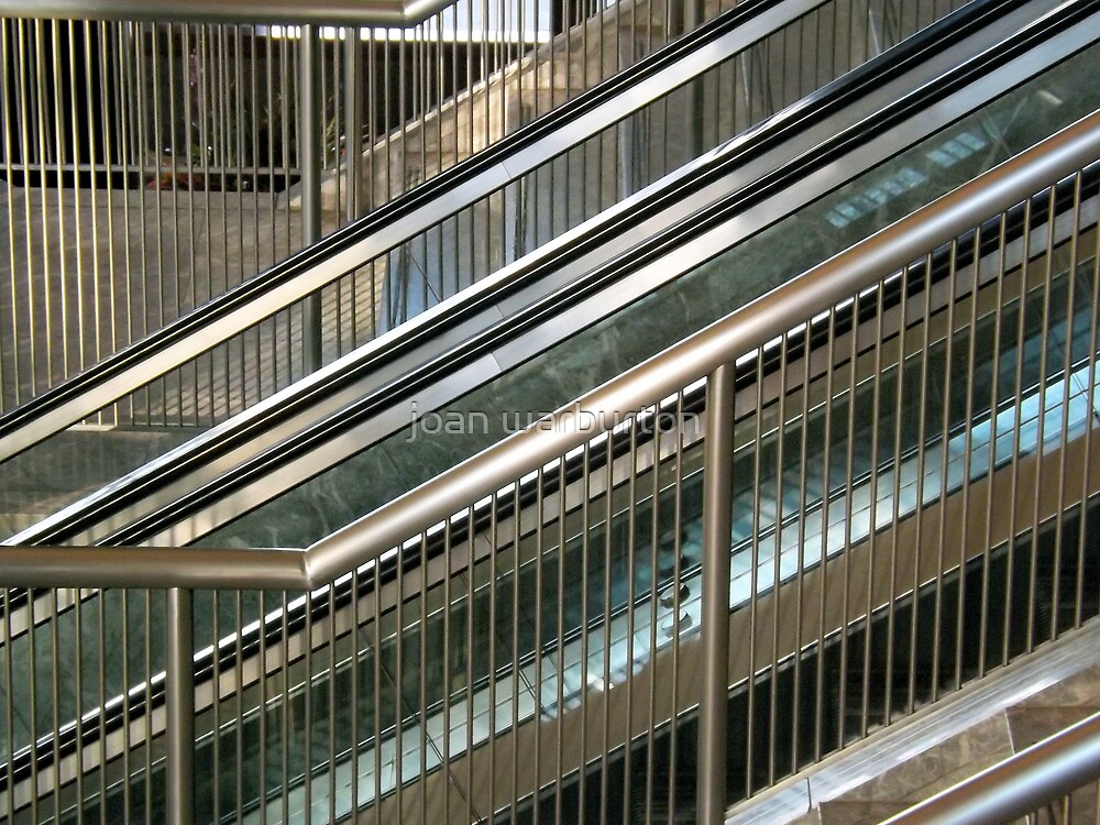 Financial Stairs by joan warburton
