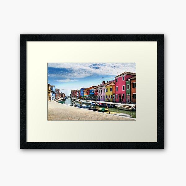 Burano Italy Framed Art Print