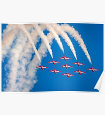 Canadian Snowbirds Jets Poster