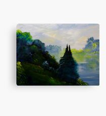 Quill Lake Canvas Print