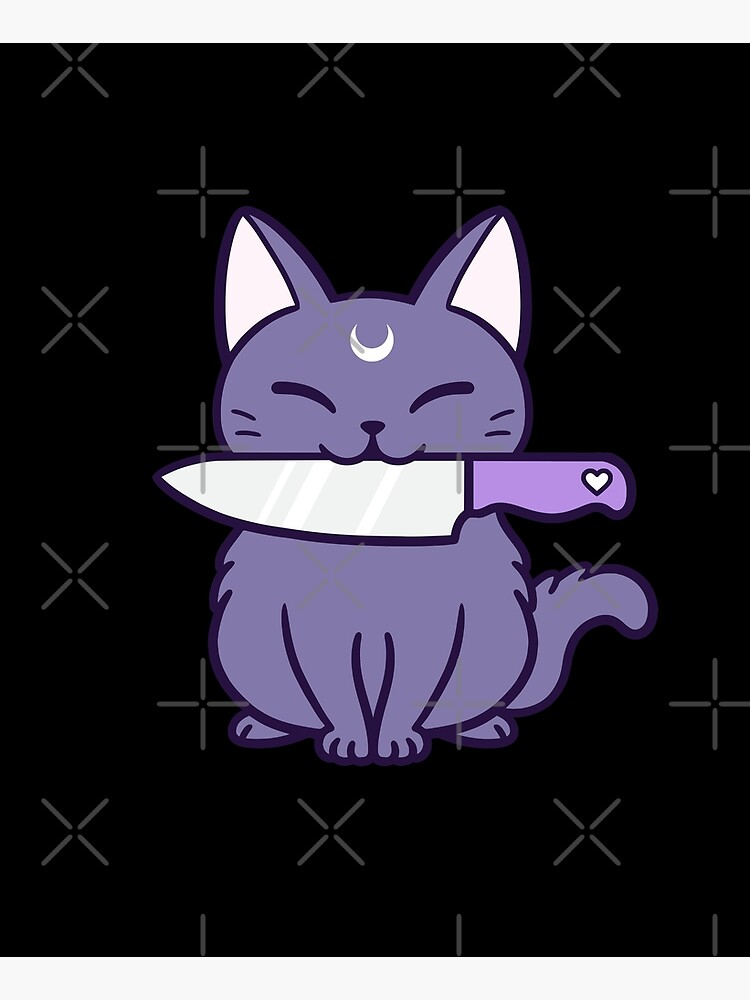 Knife Kitten // Black | Nikury by nikury