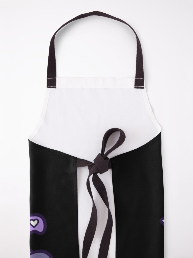 Alternate view of Knife Kitten // Black | Nikury Apron