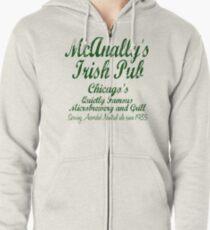 McAnally's Irish Pub Zipped Hoodie
