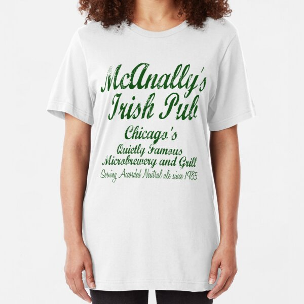 McAnally's Irish Pub Slim Fit T-Shirt