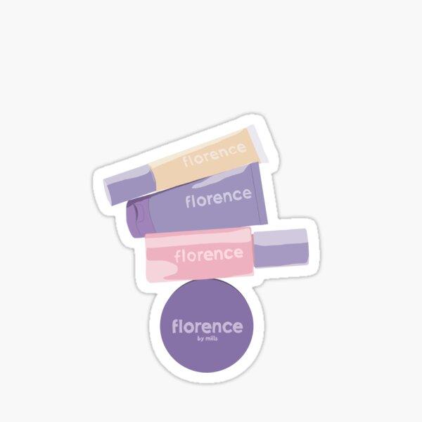Florence de Mills Sticker
