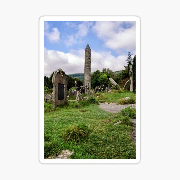 Glendalough Tower, Ireland  Sticker