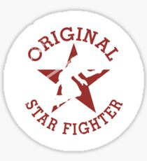 Starfighter Original Sticker