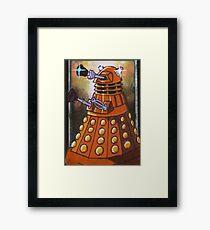 Dalek From Doctor Who Framed Print