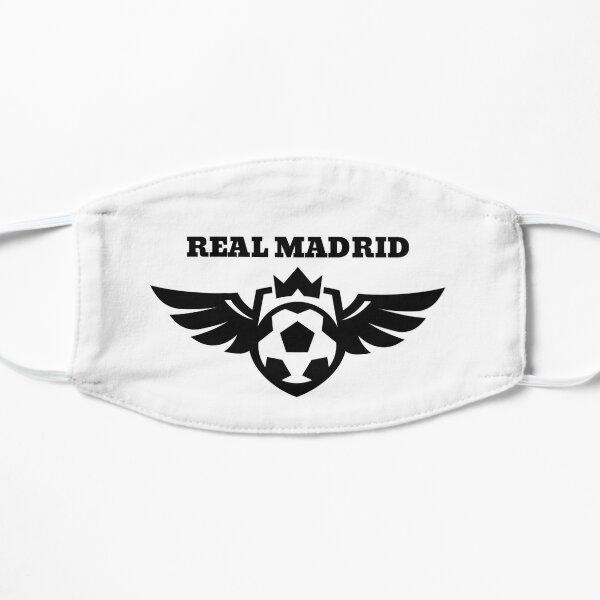 Diseño del Real Madrid Fans Club Mascarilla plana