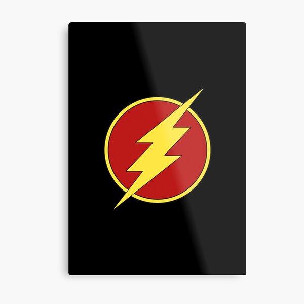 flash dc comics Impression métallique