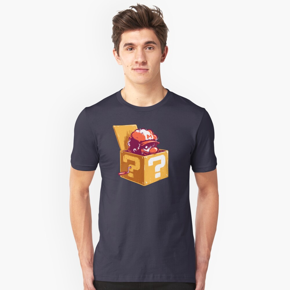 Jack in the Coin Box Unisex T-Shirt Front