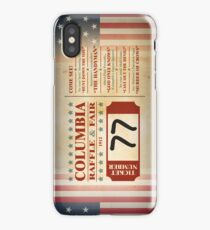 Columbia Raffle Ticket iPhone Case/Skin