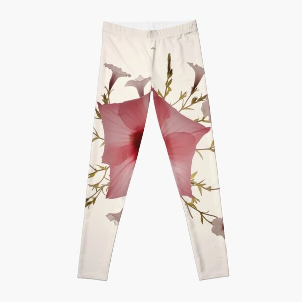 Florus Vintage-inspired botanical Leggings