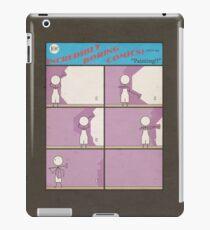"""Incredibly Boring Comics!! #5 """"Painting"""" iPad Case/Skin"""