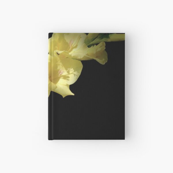 Diolus - Bold Yellow Gladiolus Photograph Hardcover Journal