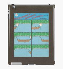 "Incredibly Boring Comics!! #8 - ""Fishing"" iPad Case/Skin"