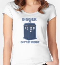 Bigger on the Inside Women's Fitted Scoop T-Shirt