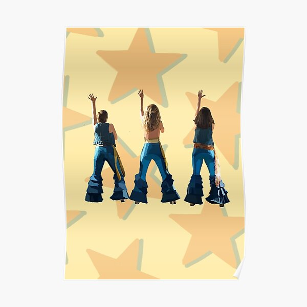Mamma Mia Donna and the Dynamos Inspired Artwork Poster