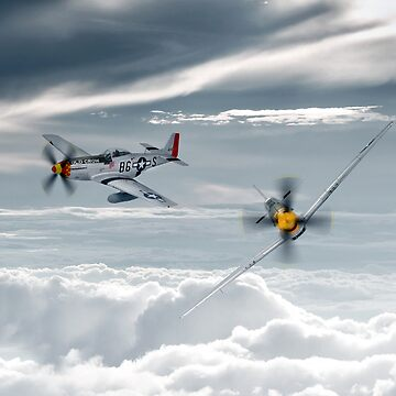 P51 Mustang - Old Crow by aviationart