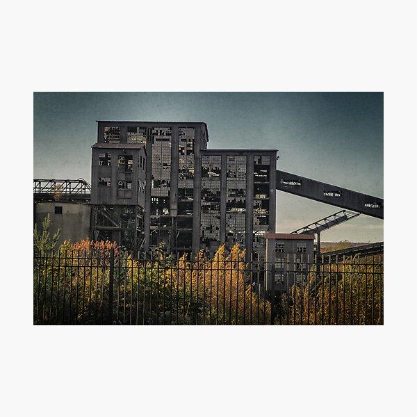 Huber Coal Breaker detail 1 Photographic Print