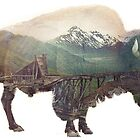Bison and Independence Mine by caronjess