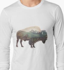 Bison and Independence Mine Long Sleeve T-Shirt