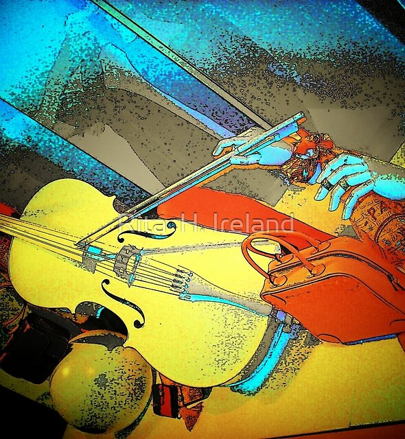 Color, Art & Music... by Rita  H. Ireland