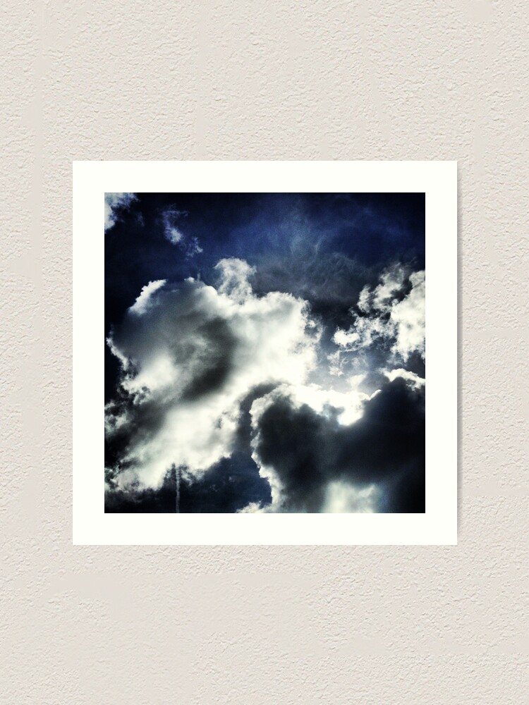 Alternate view of Clouds Art Print