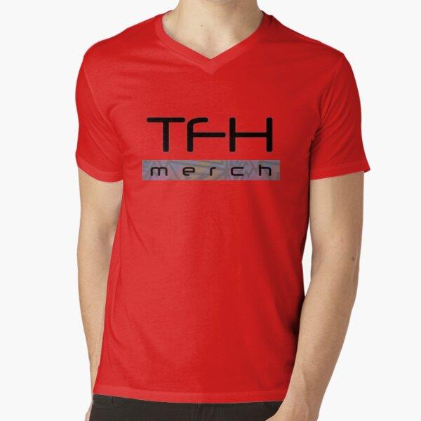 TFH brand shirt - Cryptomix V-Neck T-Shirt