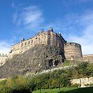 The Castle, Edinburgh by Robert Steadman