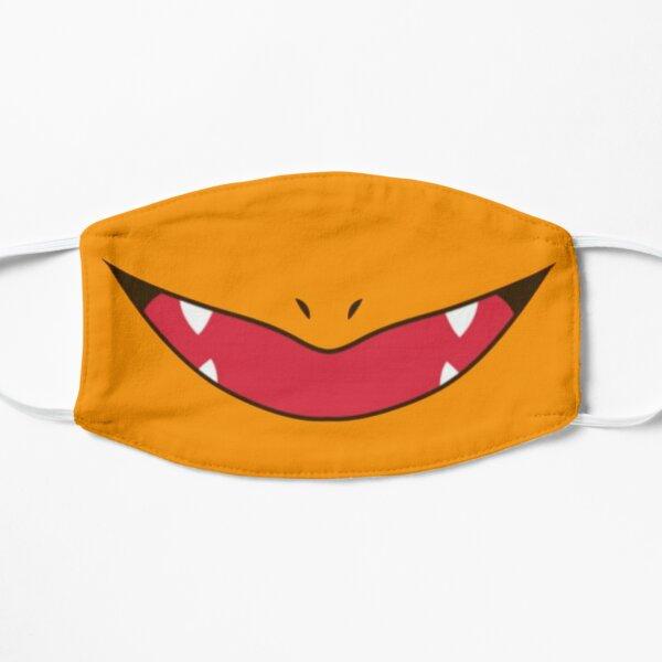 Fire lizard's smile Flat Mask