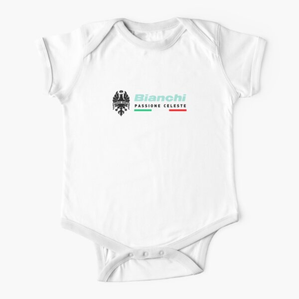 BEST TO BUY - Bianchi Bike Short Sleeve Baby One-Piece