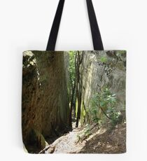 Towards the Path Tote Bag