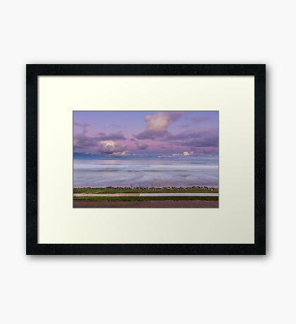Port Fairy Pastel Sunset Framed Print