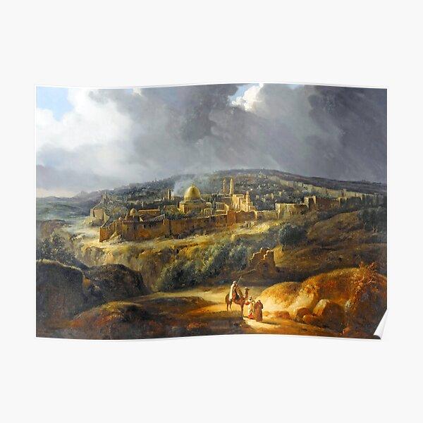 Jerusalem in 1825 Poster