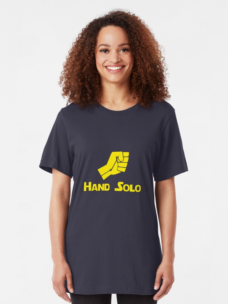 Alternate view of Hand Solo Slim Fit T-Shirt