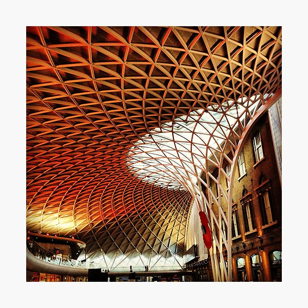 King's Cross Station, London Photographic Print