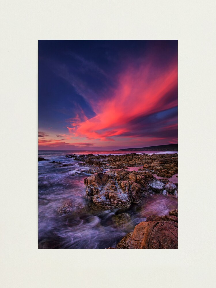 Alternate view of Yallingup Sunset Photographic Print