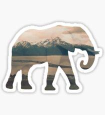 Pegatina Elefante y Homer Spit