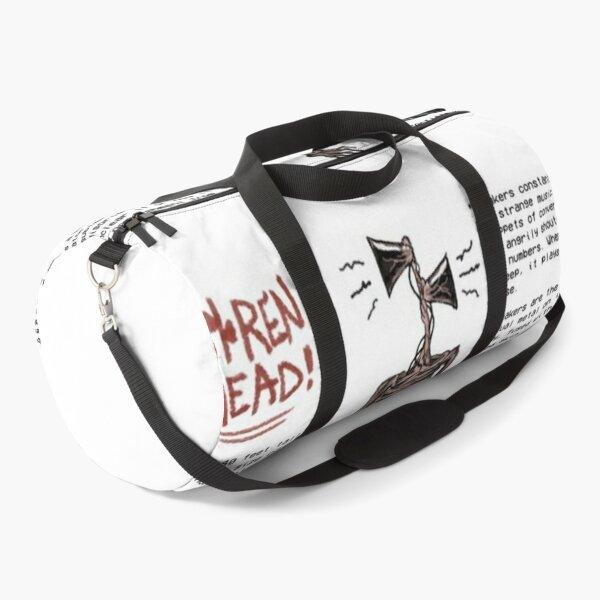 Siren Head Details Duffle Bag