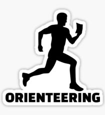 Orienteering Sticker
