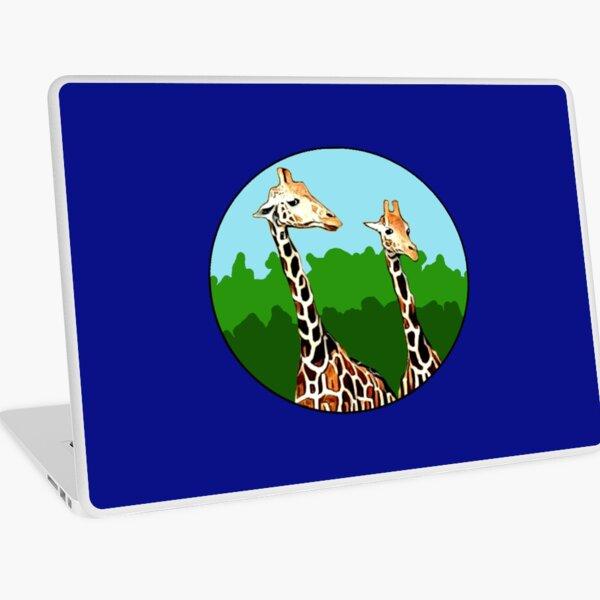 Sassy Giraffes Laptop Skin