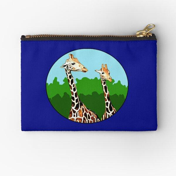 Sassy Giraffes Zipper Pouch