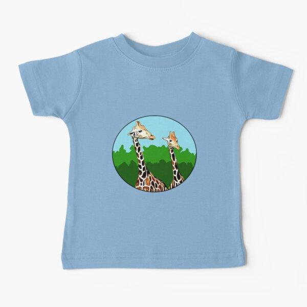 Sassy Giraffes Baby T-Shirt