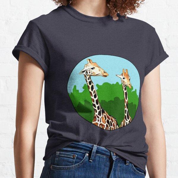Sassy Giraffes Classic T-Shirt