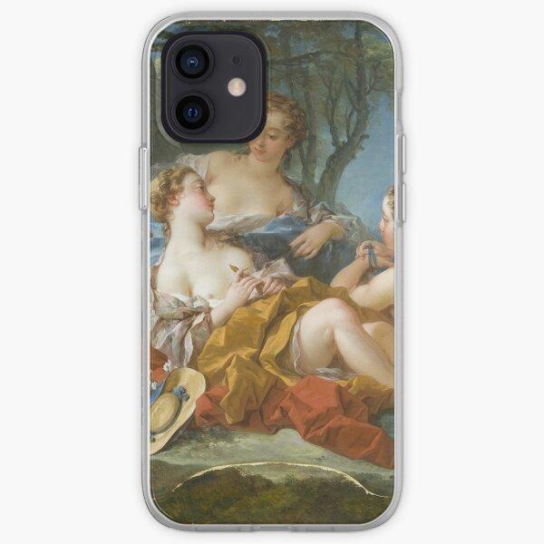 Francois Boucher - Les Confidences Pastorales iPhone Soft Case