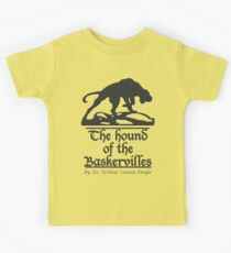 The hound of the Baskervilles Kids Tee